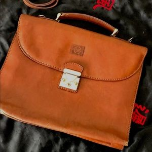 Dainelli Firenze leather briefcase